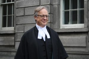 Mr Justice Michael Peart is elevated to the Court of Appeal, October 2014